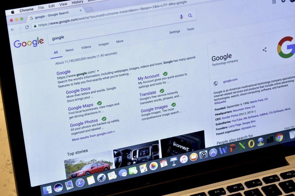 Google's SERP