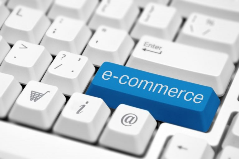 e-commerce button on keyboard