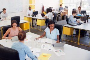 Sample of an open-plan office