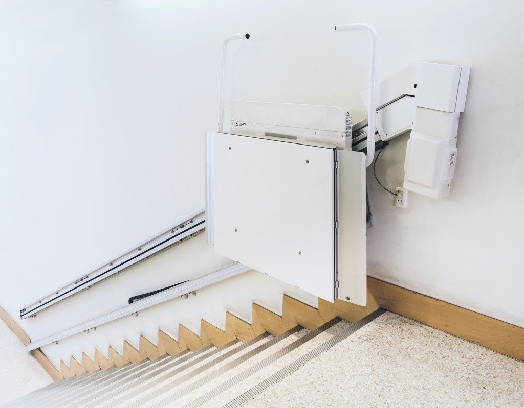 Disability stairs lift facility