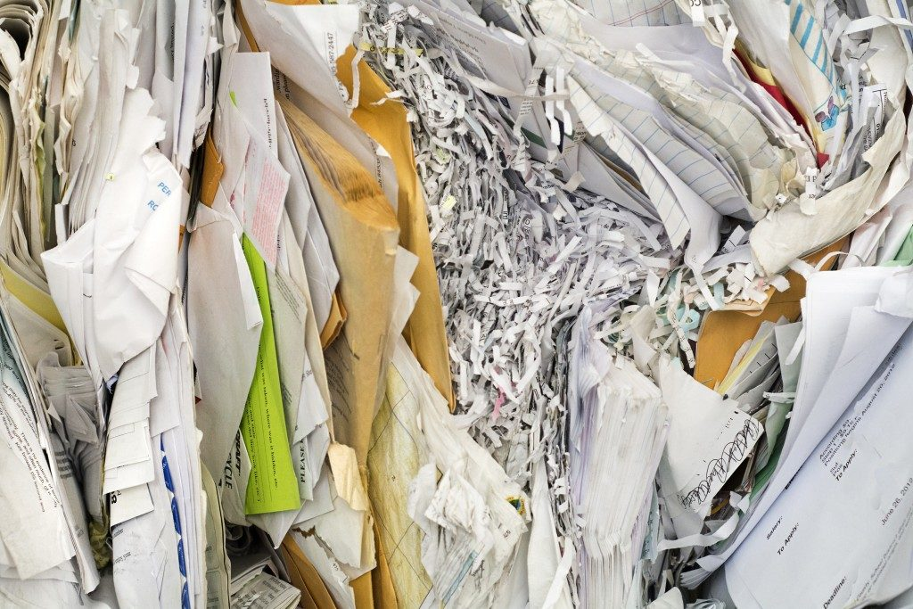 papers for recycling