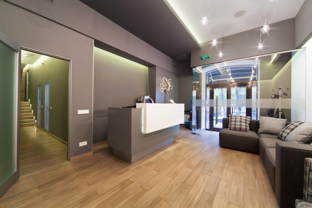 clinic lobby interior