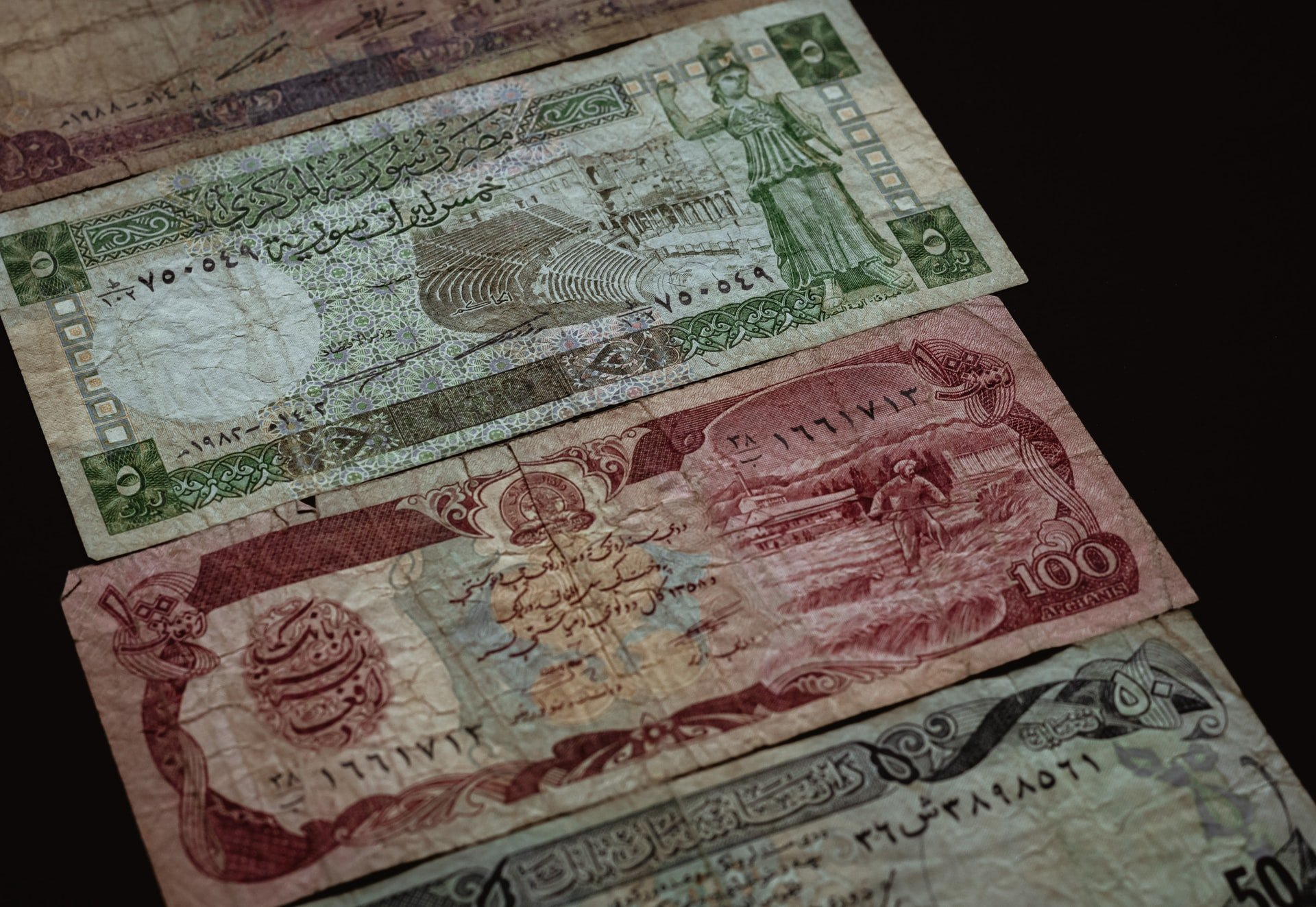 old-currencies-of-arab-countries