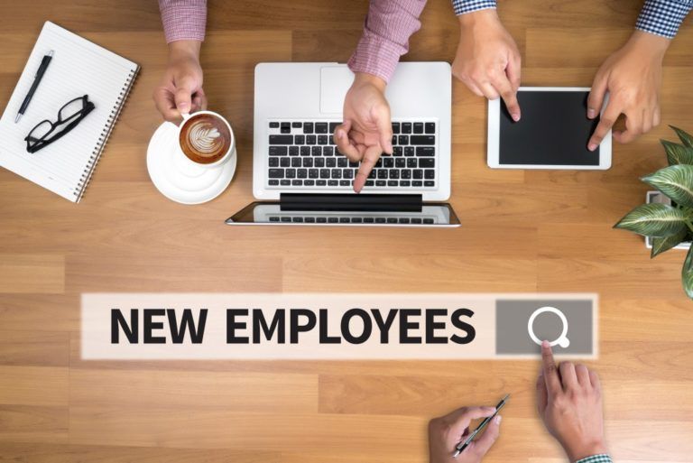 search for new employees